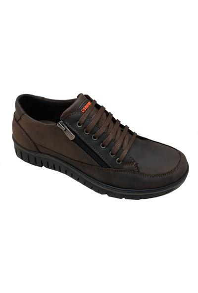 Rex-Ter 2046 Hakiki Nubuk Yerli Üretim Erkek Ayakkabı