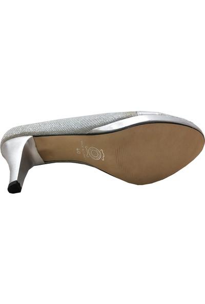 Pelucci 13659 Simli Platform Kadın Ayakkabı