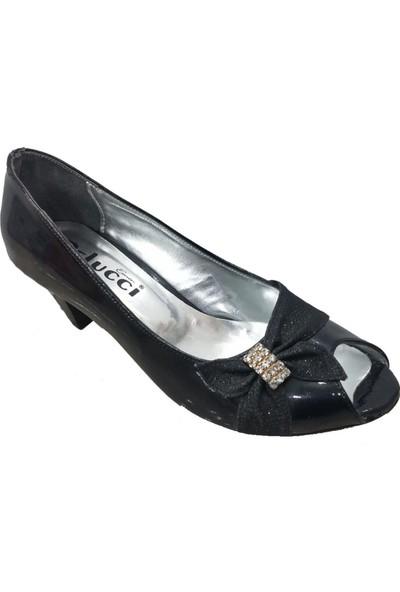 Pelucci 13654 Simli Abiye Kadın Ayakkabı
