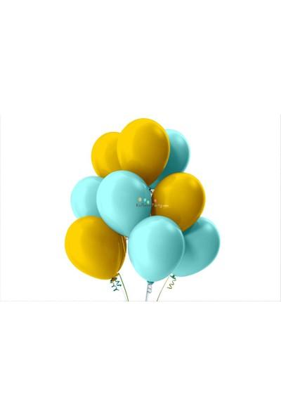 Kullan At Party Atın-Bebek Mavisi Pastel Soft Balon