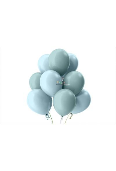 Kullan At Party Bebek Mavisi-Mint Yeşili Pastel Soft Balon