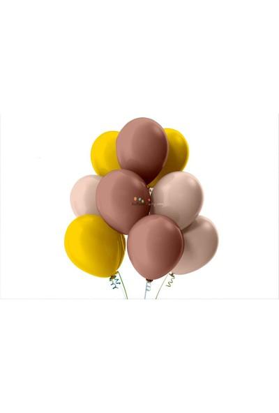 Kullan At Party Altın-Bebek Pembesi-Rose Gold Pastel Soft Balon