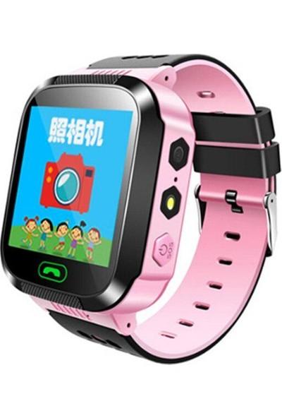 Smartbell Q529/2019 Sim Kartlı Akıllı Çocuk Saati - Pembe