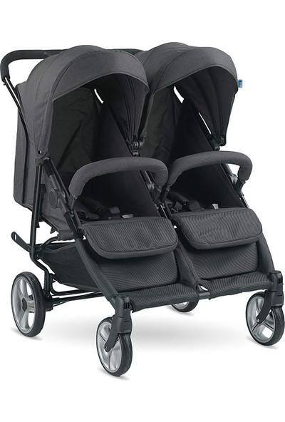 BabyHope 3077 City-Twin İkiz Bebek Arabası