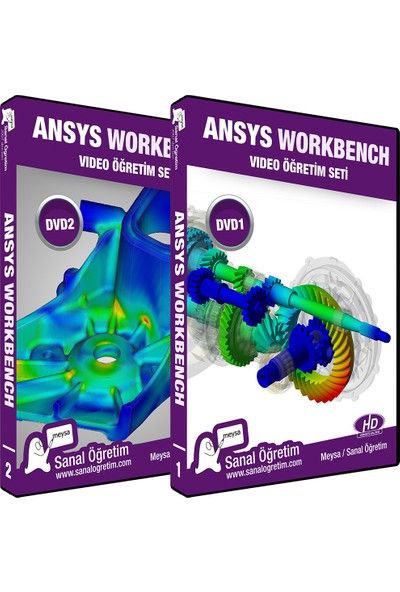 Sanal Öğretim Ansys Workbench 2019 Video Eğitim Seti