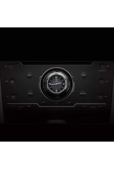 Carmaniaks Mercedes Havalandırma Torpido Uyumlu Retro Araba Saati Carmaniaks CRMX45452