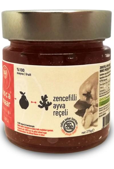 Kocamaar Çiftliği Şeker İlavesiz Zencefilli Ayva Reçeli 275 gr.