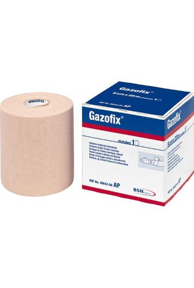 Gazofix Elastik Koheziv Fiksasyon Bandajı 8cm x 20M 46642