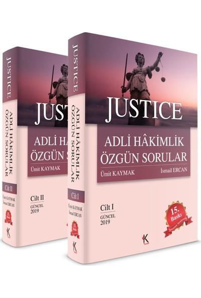 Justice Adli Hakimlik Özgun Sorular - Ümit Kaynak - Ismail Ercan