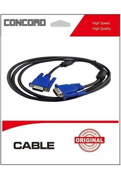 Concord 3 mt VGA Görüntü Kablosu