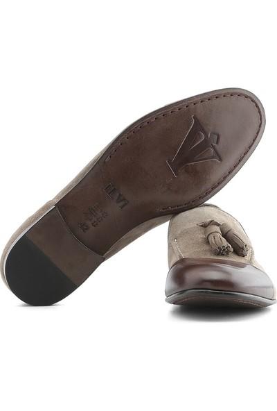 İlvi Ricarda Erkek Makosen Ayakkabı Kahve Scotch