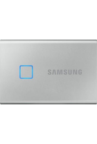 Samsung T7 Touch 500GB USB 3.2 Gen 2 Taşınabilir SSD Gümüş MU-PC500S/WW