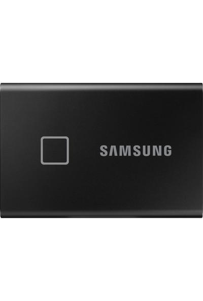 Samsung T7 Touch 500GB USB 3.2 Gen 2 Taşınabilir SSD Siyah MU-PC500K/WW
