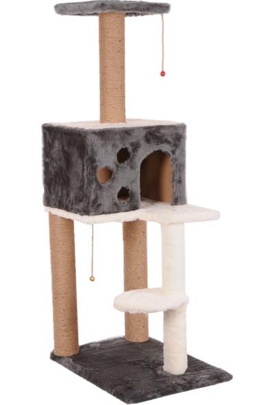 Cat Hause Kedi Tırmalama Platformlu S9 Gri 124 cm
