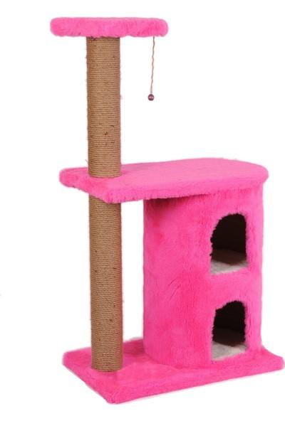 Cat Hause Kedi Tırmalama Platformu S3 Pembe 103 cm