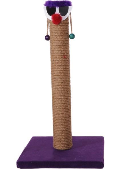 Cat Hause Kedi Tırmalama T3 Palyaço Mor 56 cm