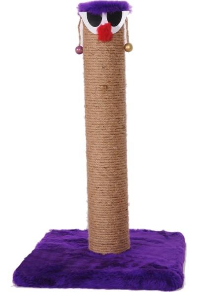 Cat Hause Kedi Tırmalama T5 Palyaço Mor 60 cm