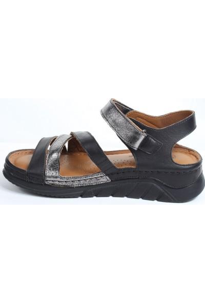 Messimod 3554 Kadın Günlük Anatomik Sandalet