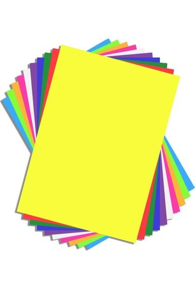 Gingko Fon Kartonu 50 x 70 cm Karışık 10 Renk