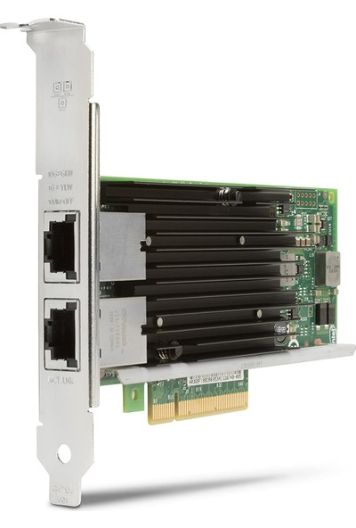 Intel® X540-T2 Dual / 2 Port 10GBE Server Ethernet Kart