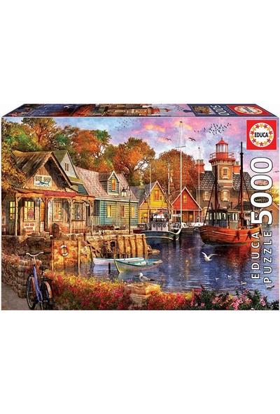 Educa The Harbour Evening 5000 Parça Puzzle No.18015