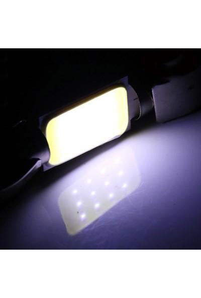 Trend Garaj Cob LED Araç İçi Aydınlatma Tavan Plaka Ledi 31 mm