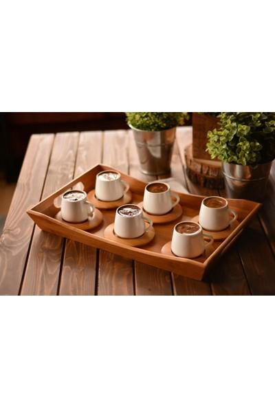 Bambum Lilach 6 Kişilik Kahve Fincan Takımı
