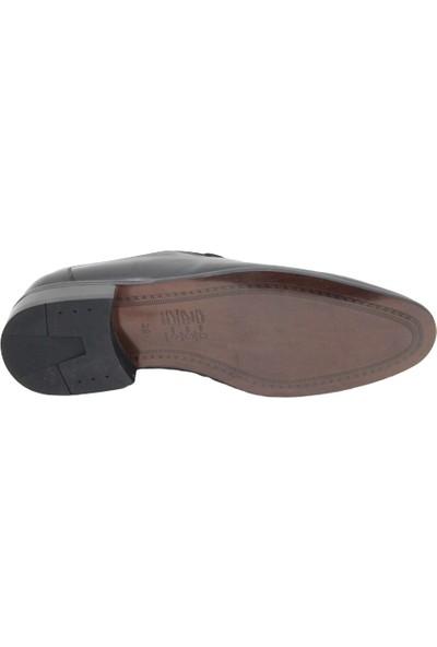 Footmark F214232 Siyah Erkek Deri Ayakkabı
