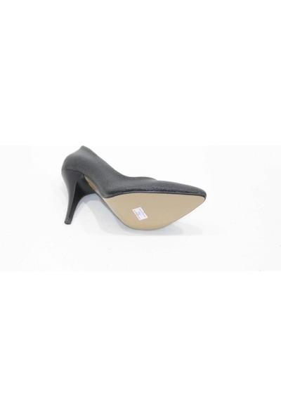 Arıcı Siyah Baskılı Stiletto