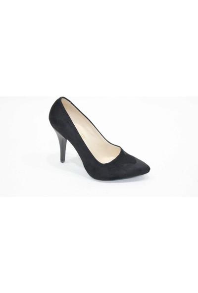 Arıcı Siyah Süet Stiletto