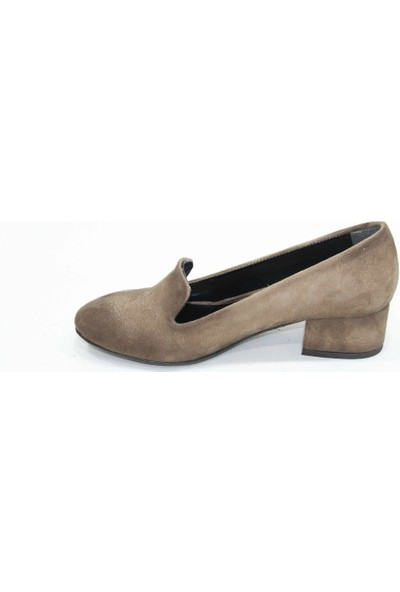 Arıcı Vizon Alçak Topuk Ayakkabı