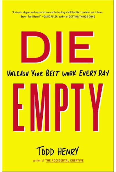 Die Empty - Todd Henry
