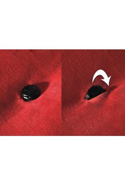 Minderim İç Mekan Palet Uzun Sırt Minderi - Kırmızı