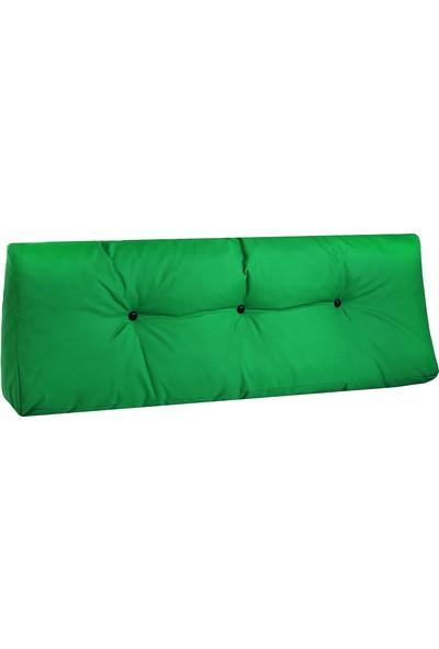 Minderim Dış Mekan Palet Uzun Sırt Minderi - Yeşil