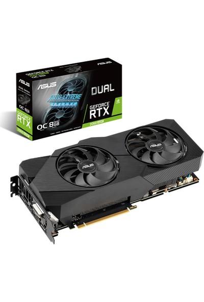 Asus Dual GeForce RTX 2060S OC EVO V2 8GB 256Bit GDDR6 (DX12) PCI-E 3.0 Ekran Kartı (DUAL-RTX2060S-O8G-EVO-V2)