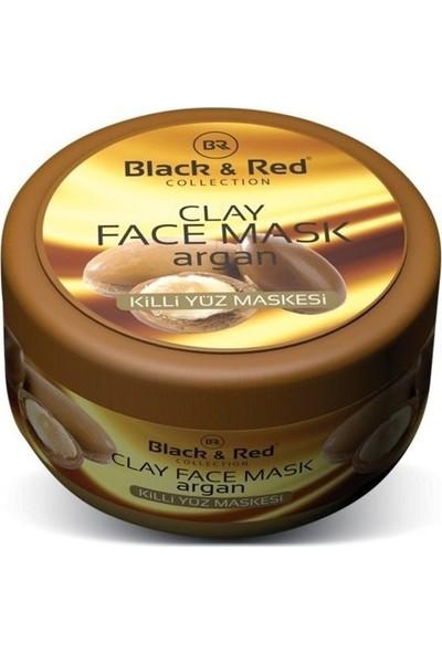 Black & Red Killi Yüz Temizleme Maskesi Argan Yağlı