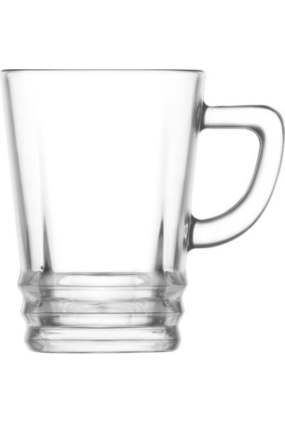 Lav Elegan Kulplu Çay Fincanı 6'lı