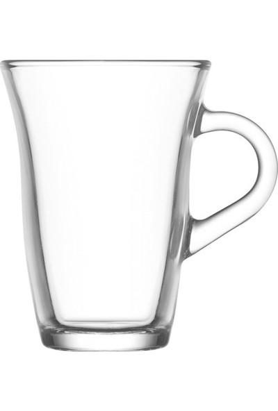 Lav Nisa Sade Kulplu Çay Fincanı 6'lı