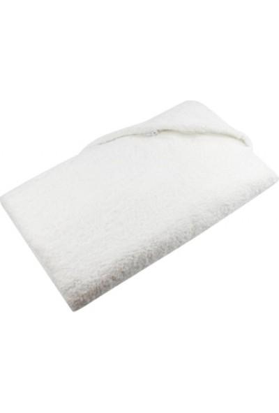 Hepsi Home Antibakteriyel El ve Banyo Havlu Seti Beyaz Oeko-Tex Belgeli