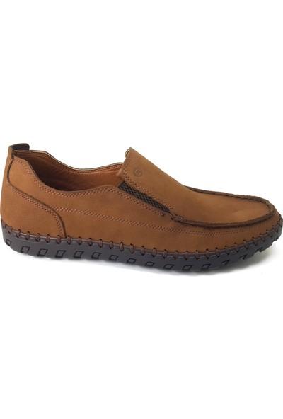 7060 Mammamia Günlük Erkek Ayakkabı Tütün Nubuk
