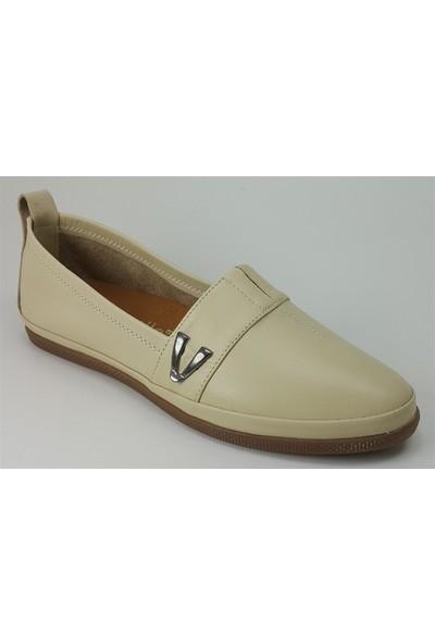 Estile 61 Günlük Kadın Ayakkabı Bej