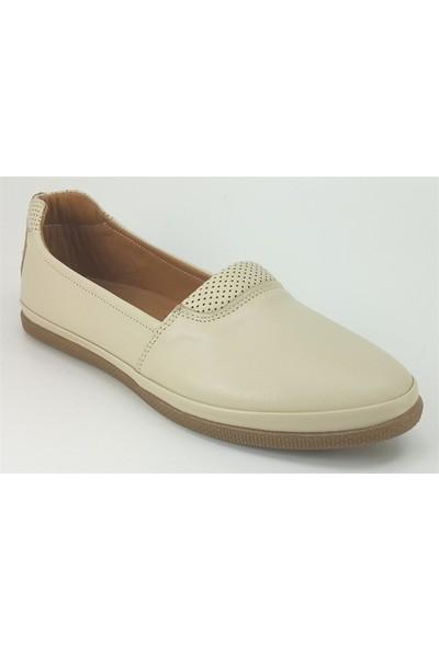 Estile 63 Günlük Kadın Ayakkabı Bej