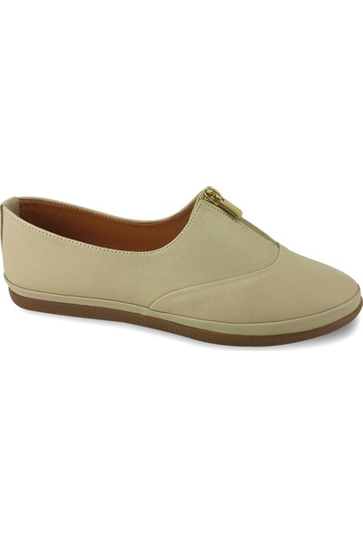 Estile 49 Günlük Kadın Ayakkabı Bej