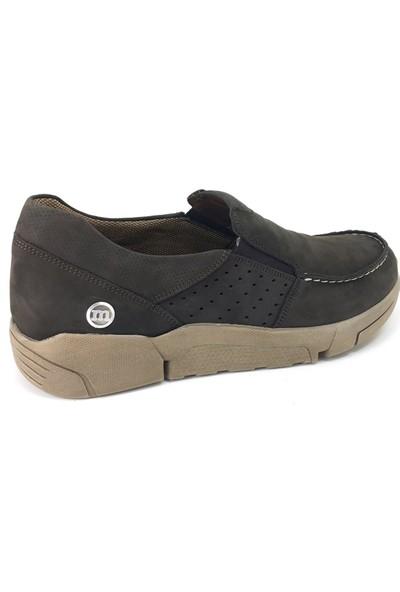 7485 Mammamia Günlük Erkek Ayakkabı Kahverengi Nubuk