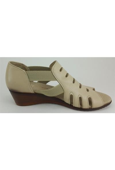 945 Mammamia Günlük Kadın Ayakkabı Bej