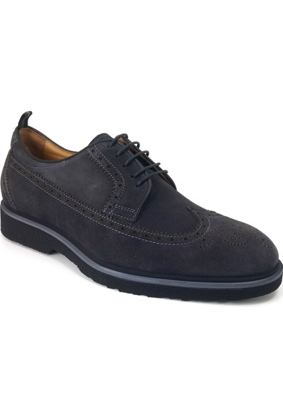 2998 Libero Günlük Erkek Ayakkabı Gri Nubuk