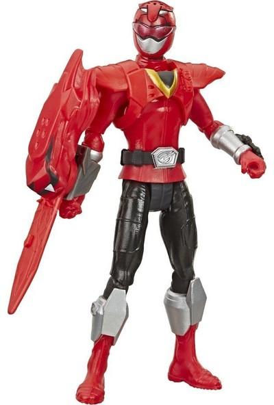 Hasbro Power Ranger Beast Morphers Figür Beast x Red Ranger E5915 - E7827