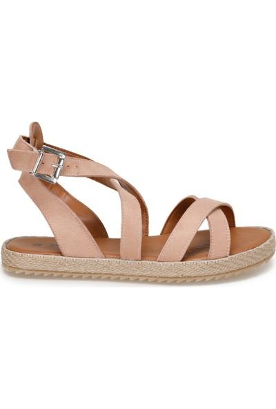 Art Bella Cs19154 Bronz Kadın Sandalet
