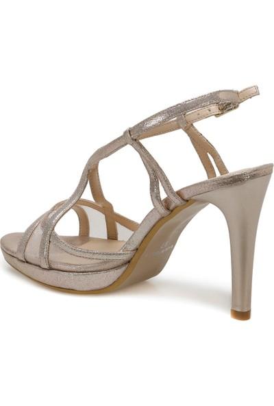 Butigo 20S-102 Altın Kadın Topuklu Sandalet