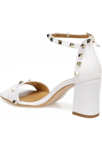 Butigo Flapy Bej Kadın Topuklu Ayakkabı